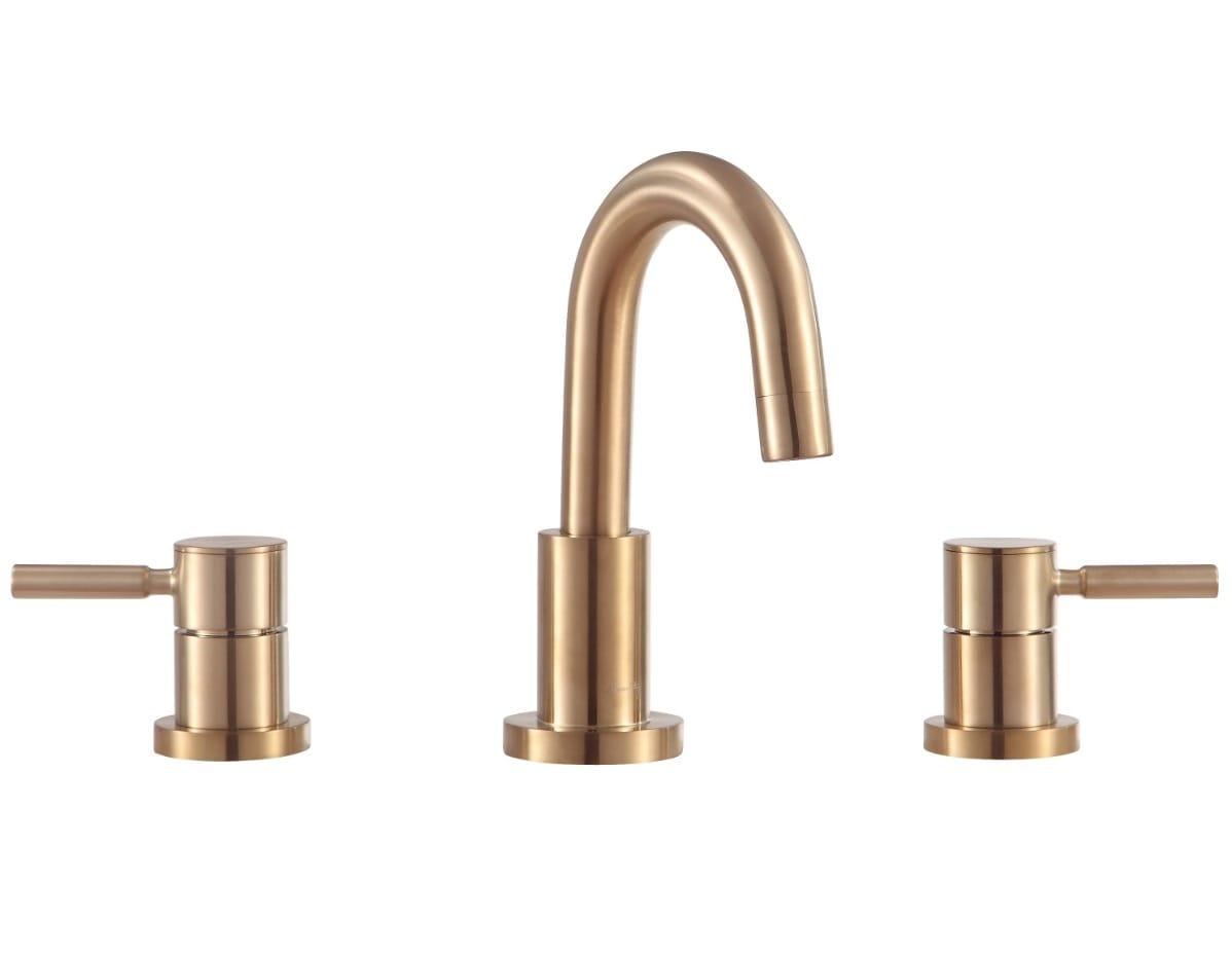 Avanity Positano 8-inch Widespread Bath Faucet - Matte Gold