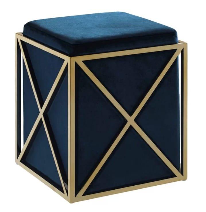 Ayoub Cube Ottoman