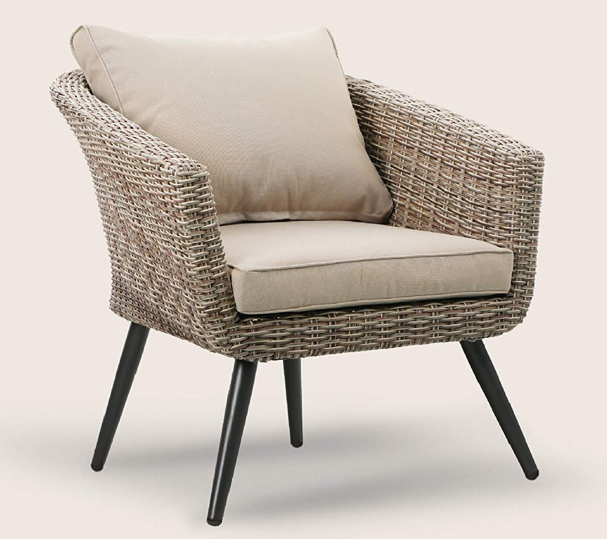 Brushed Rattan Outdoor patio chair