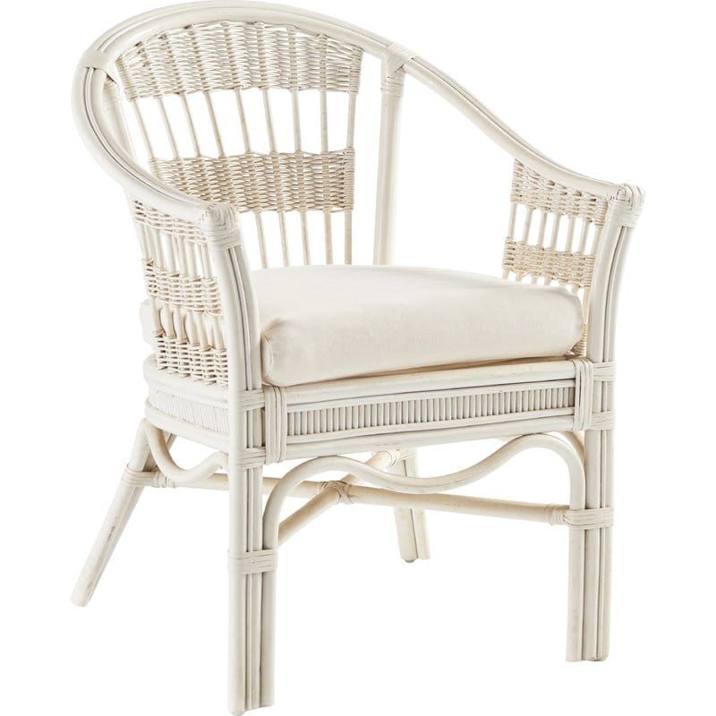 White Bermuda Outdoor patio chair