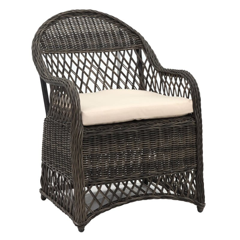 Natural Gray Outdoor patio chair