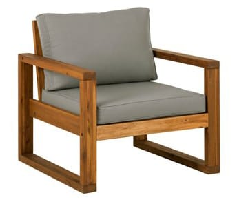 Wood Frame Outdoor patio chair