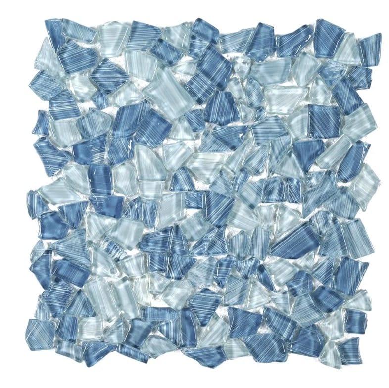 Jeffrey Court Seaglass Pebble Mosaic Tile