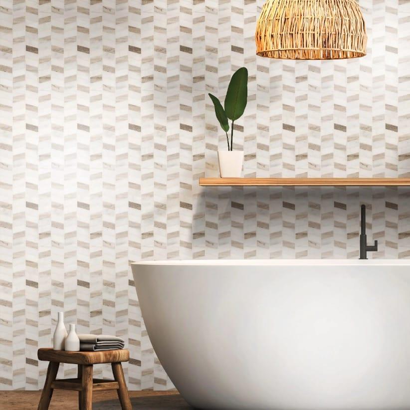 Jeffrey Court Rosewood Masic Tile