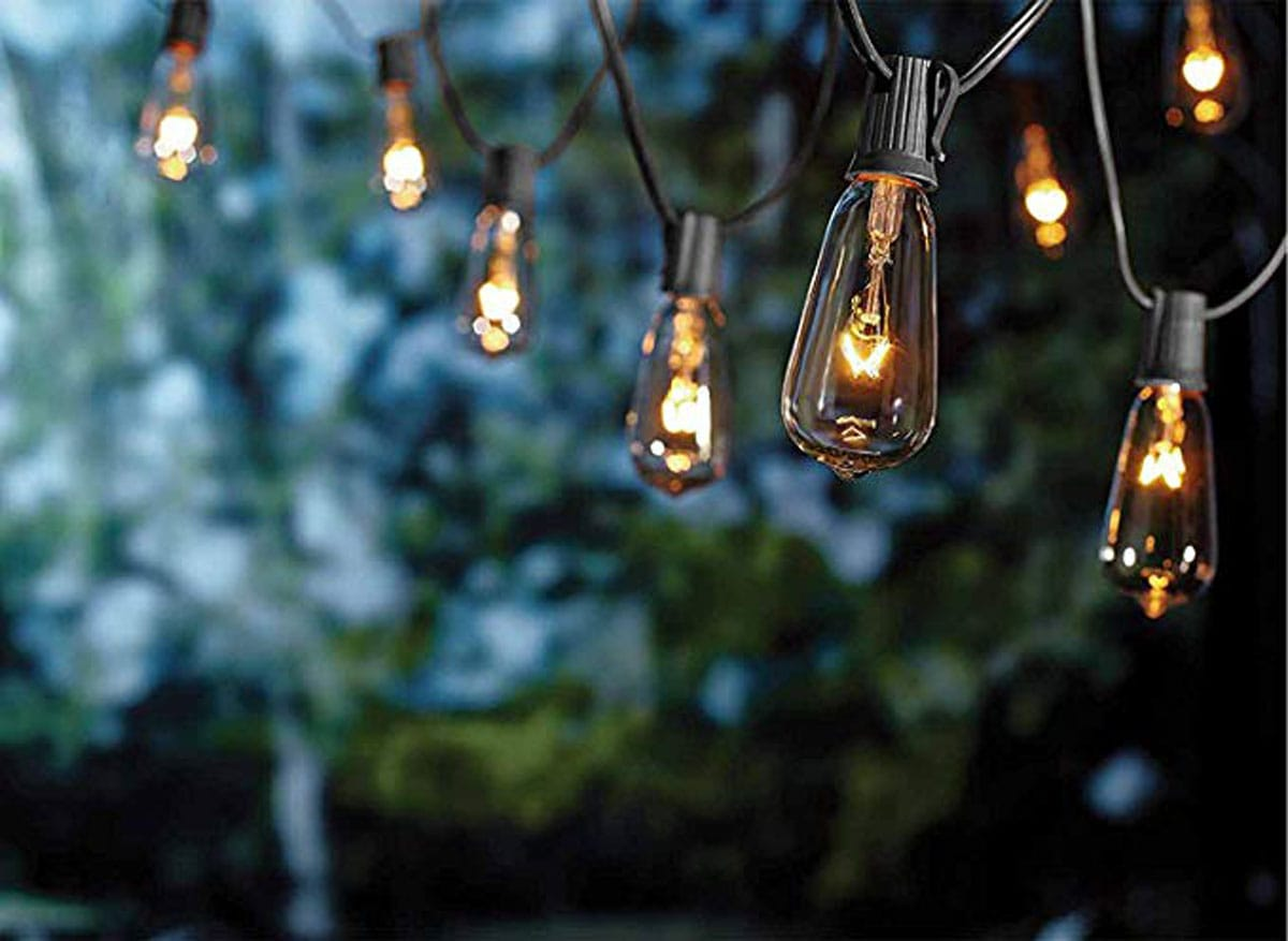 Goothy ST40 10Ft Outdoor Patio String Lights