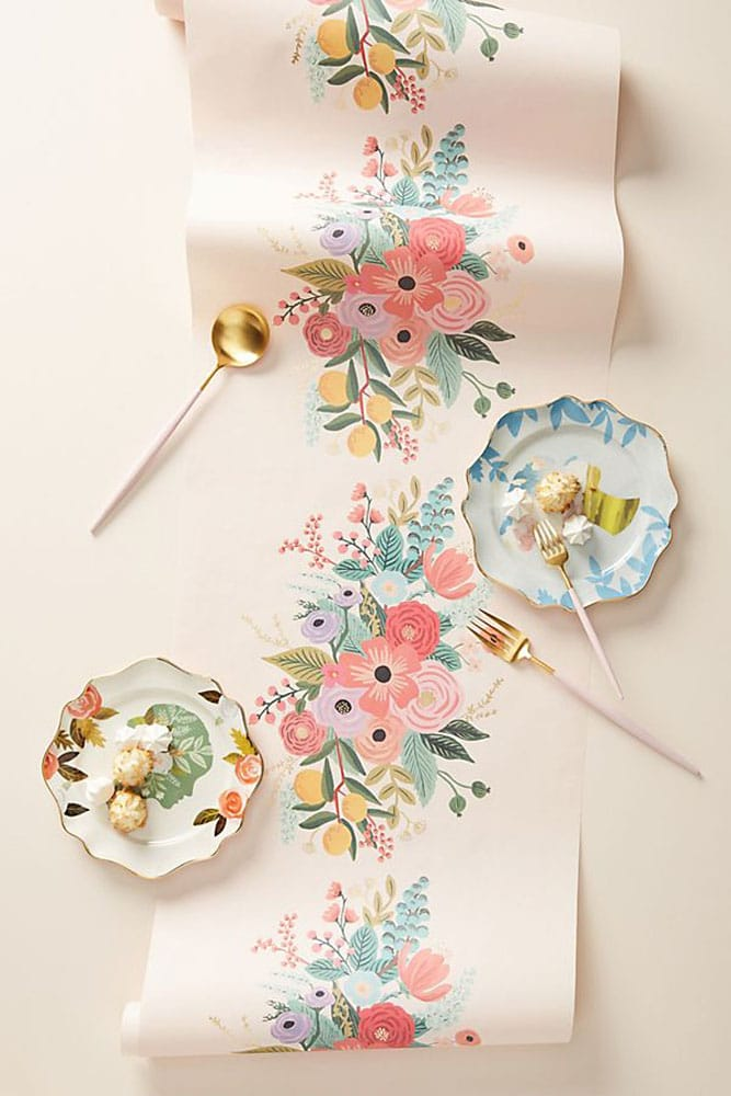 Rifle Paper Co. Elodie Table Runner