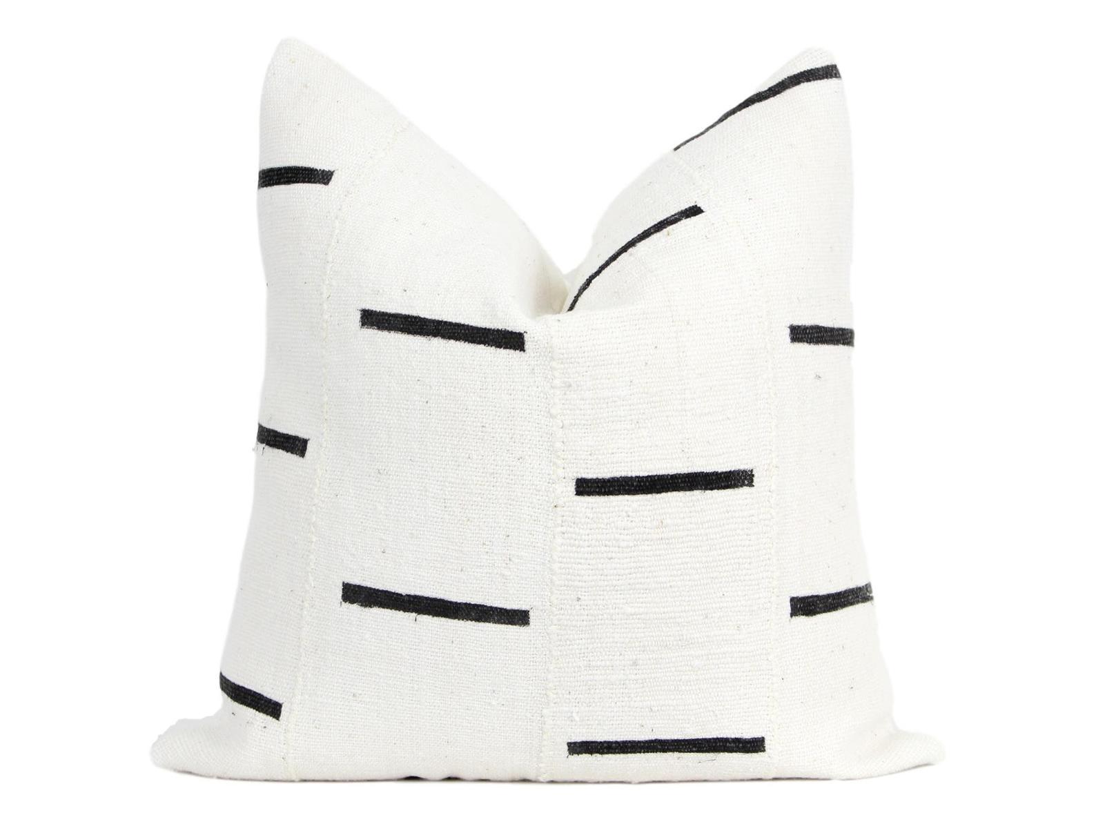 Quick Ship Mudcloth Pillow Cover