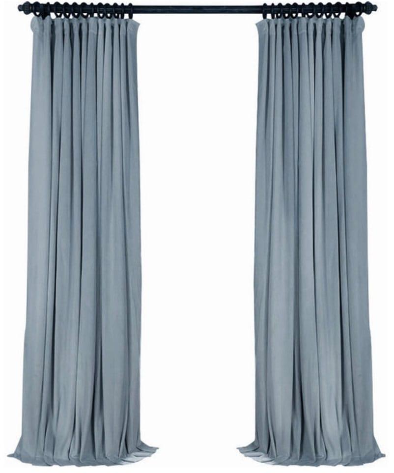Luxury Velvet Curtain Panels