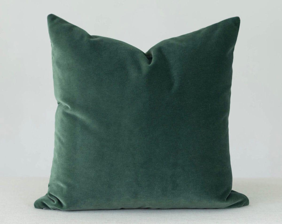 Emerald Velvet Pillow Cover