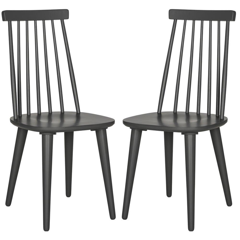 Safavieh Dining Country Burris Grey Dining Chairs