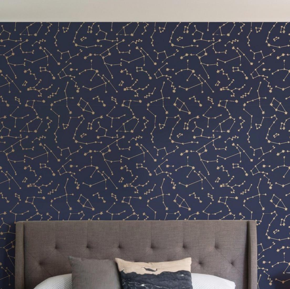 Novogratz Constellations Peel and Stick Wallpaper Roll