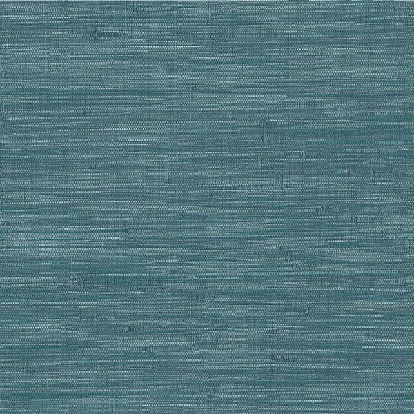 Navy Grassweave Peel and Stick Wallpaper