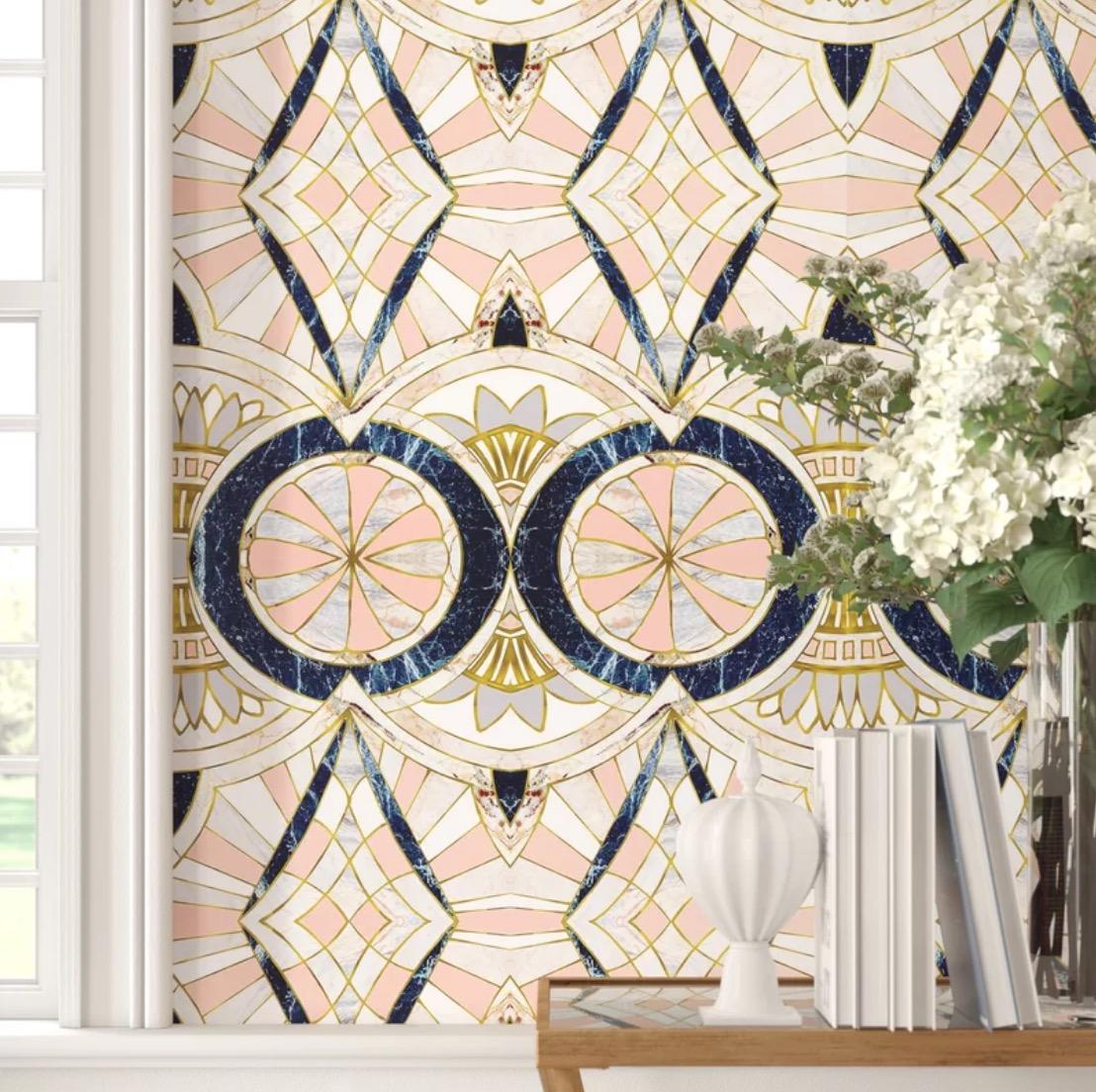 Marta Barragan Camarasa Marble Matte Peel and Stick Wallpaper Panel